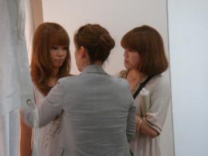 熊谷の美容室「Musee」でモデル撮影会2